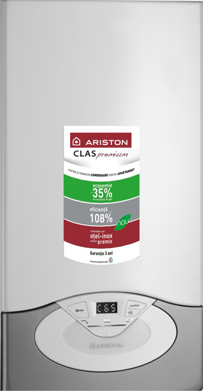 Centrala in condensatie clas premium 24 ff calor for Ariston clas premium 24 ff